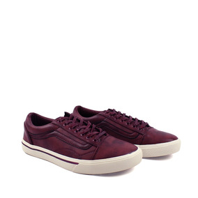 Zapatos Synergy Old Skool Bipiel Maroon 027-10ly-2
