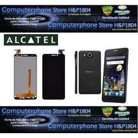 Pantalla Lcd + Mica Táctil 3/4 Alcatel Ot6030