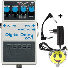 Pedal Boss Dd 3 Digital Delay Dd3 Original Oferta Kadu Som