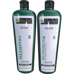 Kit Escova Progressiva Silver Carbocisteína 500ml