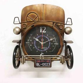 Relógio De Metal Frente De Carro