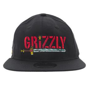 Boné Grizzly Snapback Time Black Grizzly 1edd553f39b
