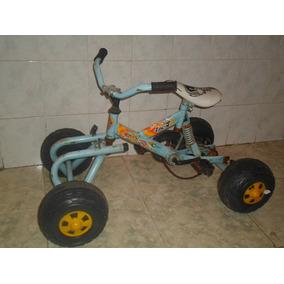 Bicicleta Cuatriciclo A Pedal