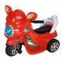 Moto Eléctrica Recargable Niños 1 A 4 Años Luces Y Sonidos