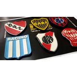 Parche Futbol Boca River San Lorenzo Independ Racing Huracan