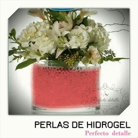 25 Sobres Rojo Perlas De Hidrogel Decoracion Pd
