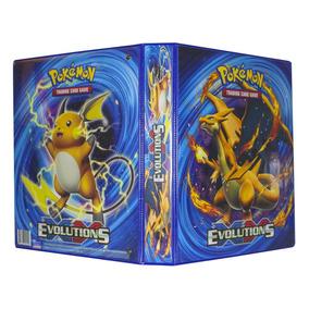 Pokémon Pasta Fichário 3 Aros Xy Evolutions 1