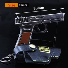 Chaveiro Miniatura Arma Metal Réplica Glock Gmbh