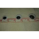 Ojos Moviles Para Pegar X 150 Unid 8mm, 10mm Y 12mm