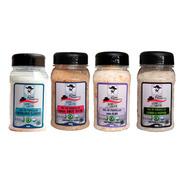 Kit Sal De Parrilla Clas.+dry Rub+alho+lemon/pepper