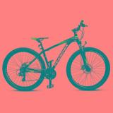 Bicicleta Mtb Aro 29 Phoenix Tk600 Negro Azul