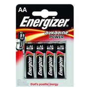 Pilas Aa Pack X 4 Energizer Bateria Alcalina - La Roca -