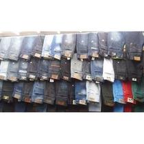 Calça Jeans Masculina Skinny Marcas Famosas Atacado 10 Peças