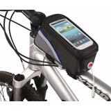Bolsa Porta Celular Guidão Suporte Bicicleta Iphone Galaxy