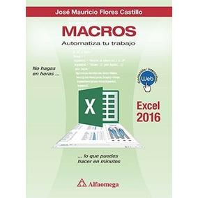 Libro Online Macros Automatiza Tu Trabajo. Excel 2016
