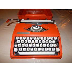 Antigua Máq Escribir Hermes Baby Impecable - Decor Vintage