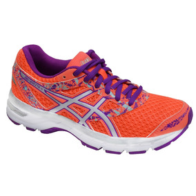 Tenis Asics Dama Flash Coral/silver/orchid Gel -excelte 4