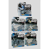 Star Wars Lote De 5 Naves Galacticas Hot Wheels Imaginext