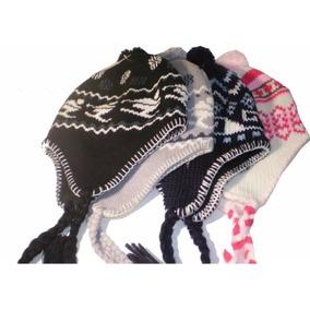 Touca Peruana Andina Ou Chaves Com Proteção Orelhas bc38f942478