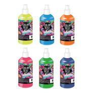 Lluvia De Pintura Fluo Guerra De Pinturas X 6 Color Fest Upd