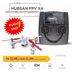 Drone Hubsan X4 H107d Fpv Imágenes En Tiempo Real