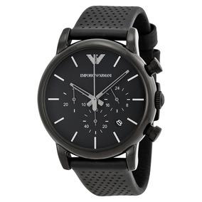 Reloj Emporio Armani Hombre Modelo Ar1737 Negro