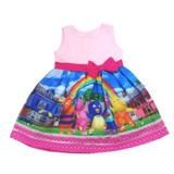 Vestido Festa Infantil Backyardigans 1-6 Anos