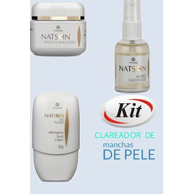 Kit Natskin 3 Produtos Clareamento De Manchas De Pele Hinode