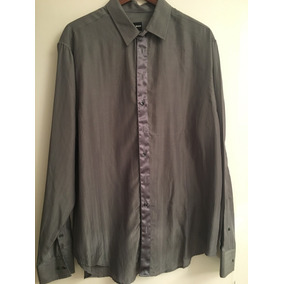 Emporio Armani / Camisa Seda Natural Finísima / Sin Usar