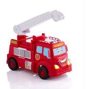Juguete Camion Bomberos Con Luz Sonidos Lanza Agua Calesita