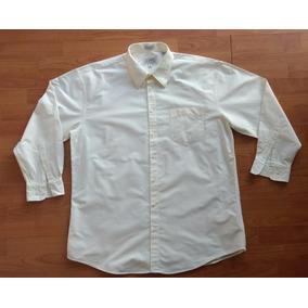 Camisa Caballero Color Crema Talla Xl