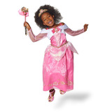 Fantasia Vestido Princesa Aurora Bela Adormecida Luxo Disney