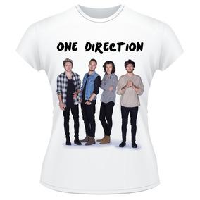 Baby Look One Direction 2015 Banda Camiseta Feminina
