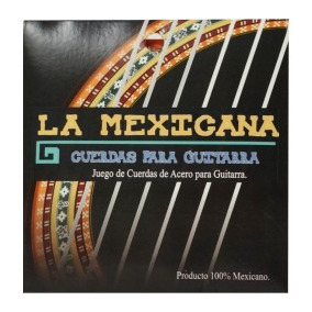 Cuerdas Para Guitarra Acústica De Acero La Mexicana