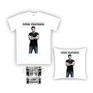 Kit Camiseta, Almofada E Caneca Luan Santana