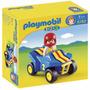 Playmobil 6782 - Cuatriciclo Linea 1-2-3 Villa Urquiza