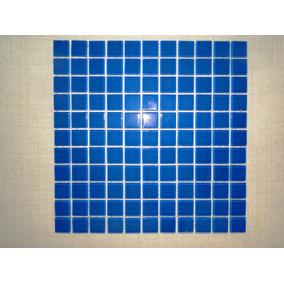 Pastilha Vidro Azul Royal 30 X 30 / 2,50 X 2,50
