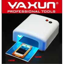 Lampara Uv 36watt Luz Ultravioleta Pega Mica Táctil Celular