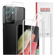 4 Pack Galaxy S21 Ultra Protector 2 Pack Vidrio Templado