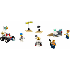 Lego City 60077 Space Starter Set - 107 Pzs Y 4 Figs