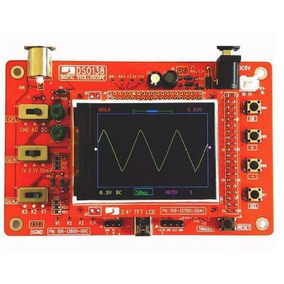 Dso138 2.4 Tft Osciloscópio Digital Montado
