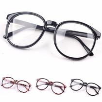 Armação Óculos De Grau - Grande Redondo A Pronta Entrega