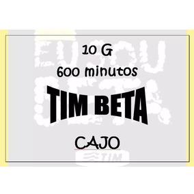 Tim-beta Convite Ou Migração 10gb+600min Oferta Imperdível