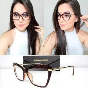 f27b911d9e173 Oculos Tendencia 2018 Feminino Armacoes - Óculos no Mercado Livre Brasil