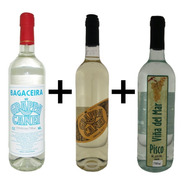 Kit 3 Destilados St Cecilia-grappa Branca+envelhecida+pisco