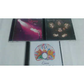 Cd Queen I / Cd Queen Ii / Cd A Night At The Opera - 3cds