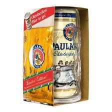 Cerveza Importada Alemana Paulaner Oktoberfest 1lt + Jarro