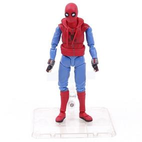 Homem Aranha Versão Voltando Para Casa Com Base 14cm