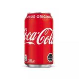 Pack 48 Latas De Coca-cola Sabor Original 350 Cc / Devitrina