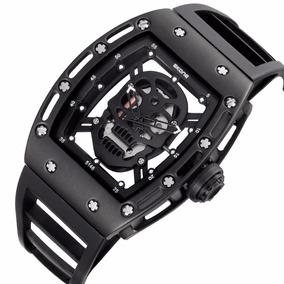Reloj Skone Hombre Skeleton Richard Mille Skull